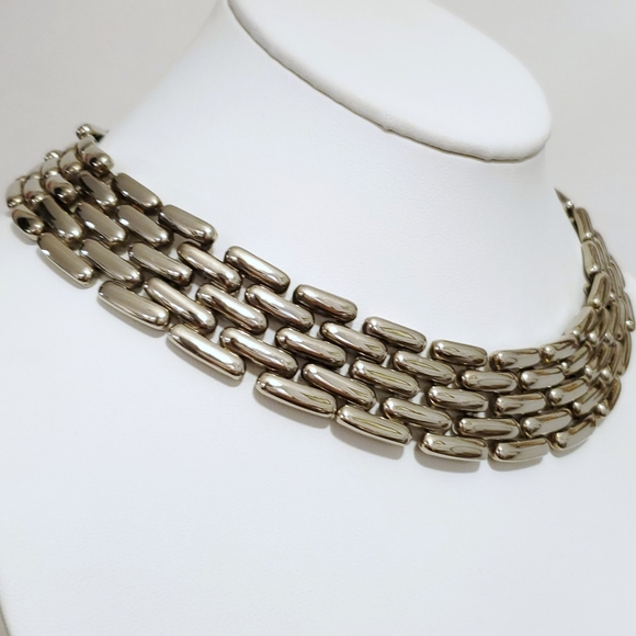 Vintage Gold Tone Collar Stay Free Shipping